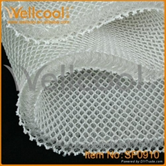 air-conditionning and elasticity 3d mesh fabric with  quality