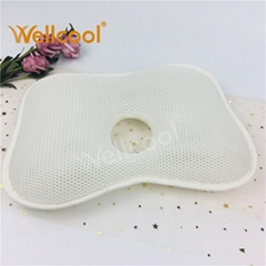 Washable 3d air mesh fabric baby pillow newborn pillow baby head pillow