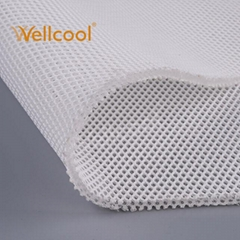 Wholesale free sample honeycomb keep air flow 400-500g/m2 3d spacer mesh fabric
