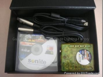 DMX 512 Sunlite 控制器 4