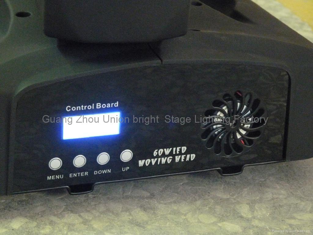60w LED 搖頭燈 4