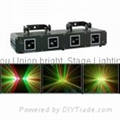 Double Green&Red Laser  :532nm G60MW ,650nm R100MW