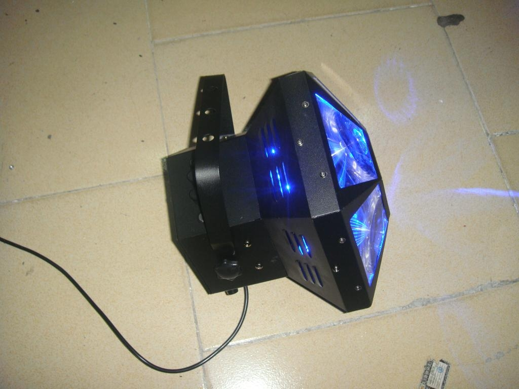 LED圆孔六角灯 2
