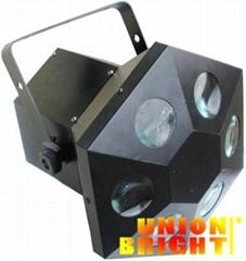 LED圆孔六角灯