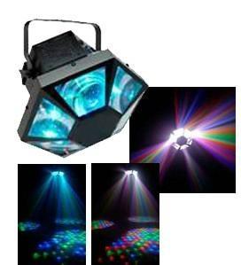 LED圆孔六角灯 3