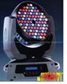 Led moving Head  (108x1w/3w LED Diodes )