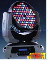 Led moving Head  (108x1w/3w LED Diodes )