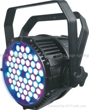 HP LED par  54x3w RGBW  4 color par