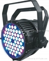HP LED par  54x3w RGBW  4 color par