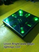單綠激光舞臺地板磚/激光演舞者