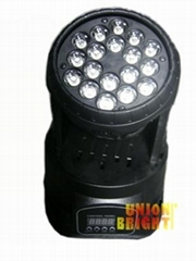Led Mini  Wash  18x3w Moving Head  light