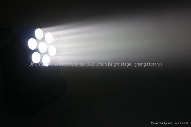 Led 光束洗墙灯 7x12w  3