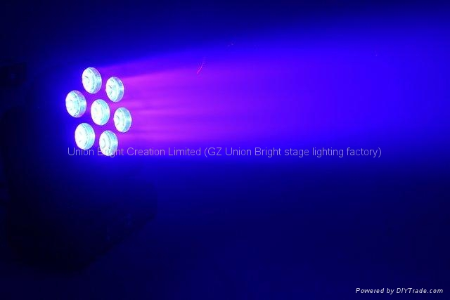 Led 光束洗墙灯 7x12w  5