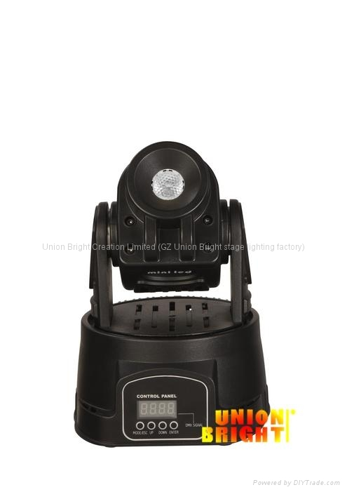 UB-A074B 15W LED摇头灯 1