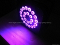 RGBW  Led  par  24x10w  4-in-1/Flat  par