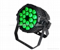 LED Par 4-1 Hight Bright LEDs  18x8w