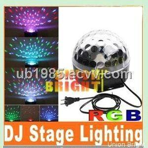 Led Magic ball/RGB LED Mini Crystal Ball Light / LED Crystal Magic Ball / LED Ef 1