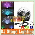 Led Magic ball/RGB LED Mini Crystal Ball Light / LED Crystal Magic Ball / LED Ef