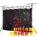 LED Star Cloth/ Led wall washer  / led back  ground  light  for  party  use