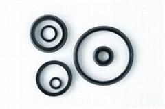 V-oil seal set with fabric