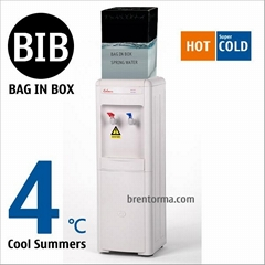 16LG-BIB Bag in Box Water Cooler Hot and Cold BIB Water Dispenser