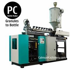 5 Gallons Polycarbonate Bottle Blow Moulding 3 Gallon PC Bottle Making Machine