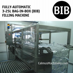 Fully-automatic 3-25L WEB Type Bags Filler BIB Bag in Box Filling Machine