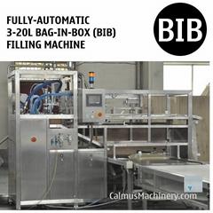 3-25L BIB Water Alcohol Beverage Oil Filling Machine Bag in Box Filler