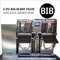 Bag Water Filler Double-head BIB Filling Equipment Bag in Box Filling Machine