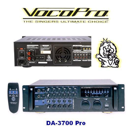 VocoPro - Professional vocal system 5