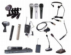 Wired & Wireless Microphones