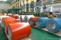 Color Coated Galvanized Galvalume Steel Coils Rolls PPGI PPGL
