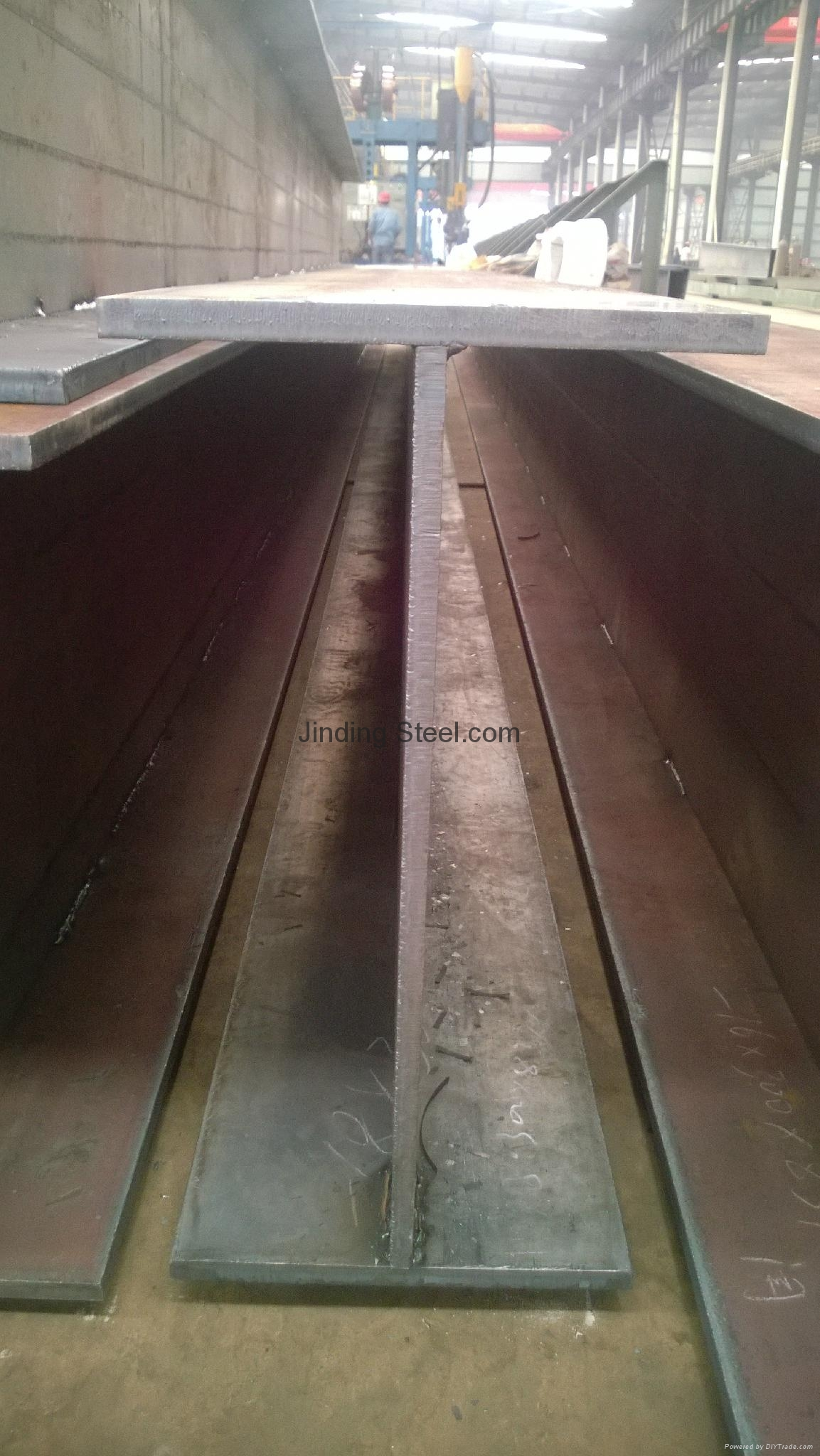 q235 q345 steel structure welded  h beam 1