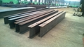 q235 q345 steel structure welded  h beam 2