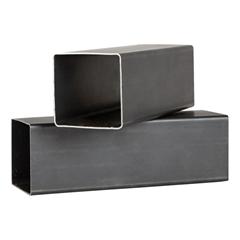 Carbon Black Square Rectangular Steel Tube