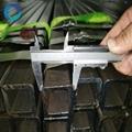 erw carbon welded steel square/rectangular tube