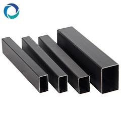 50 x 25 carbon rectangular black rolled steel tube