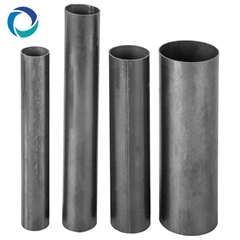 erw black carbon steel 2 inch hollow pipe