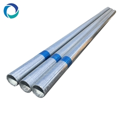 wholesale hot dip ga  anized thick wall mild steel pipe