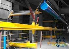 電解鋁超濃相輸送系統風動溜槽輸送