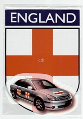 magnetic car flag