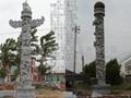 石雕華表龍柱 4