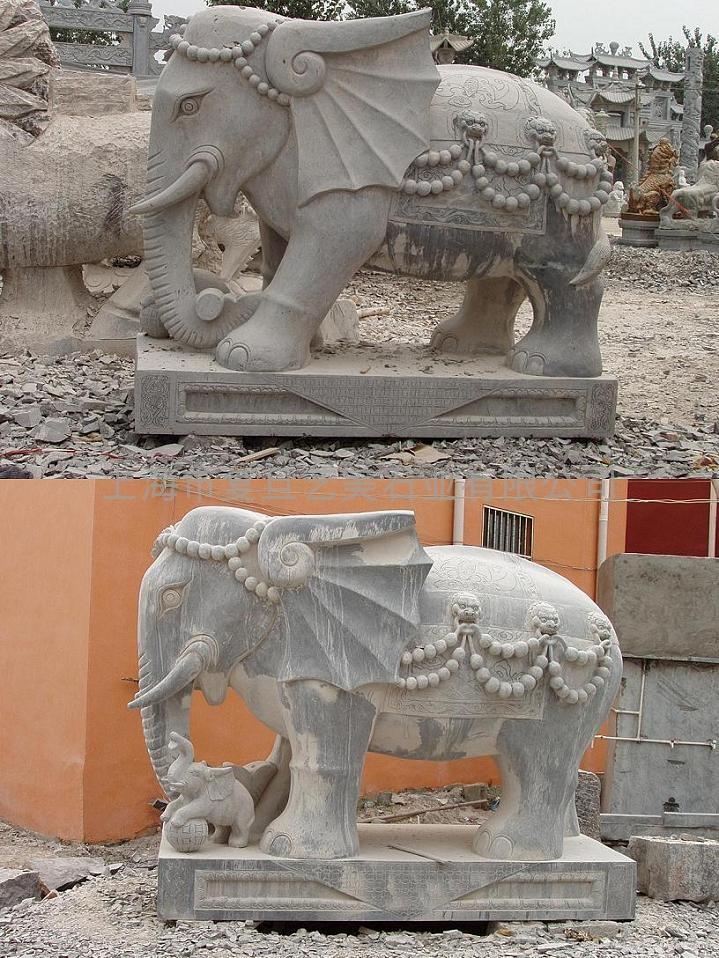 石雕大象 1