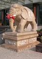 石雕大象 4