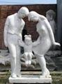 石雕母爱人口计生雕塑