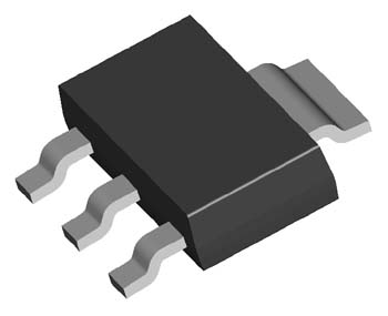 低压差稳压电路LDO: LT1117, LM1117 1A