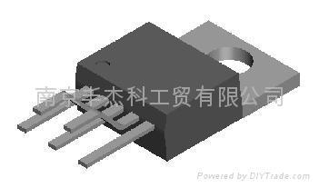 超低压差稳压集成电路ULDO: LM39500 /1/2 2