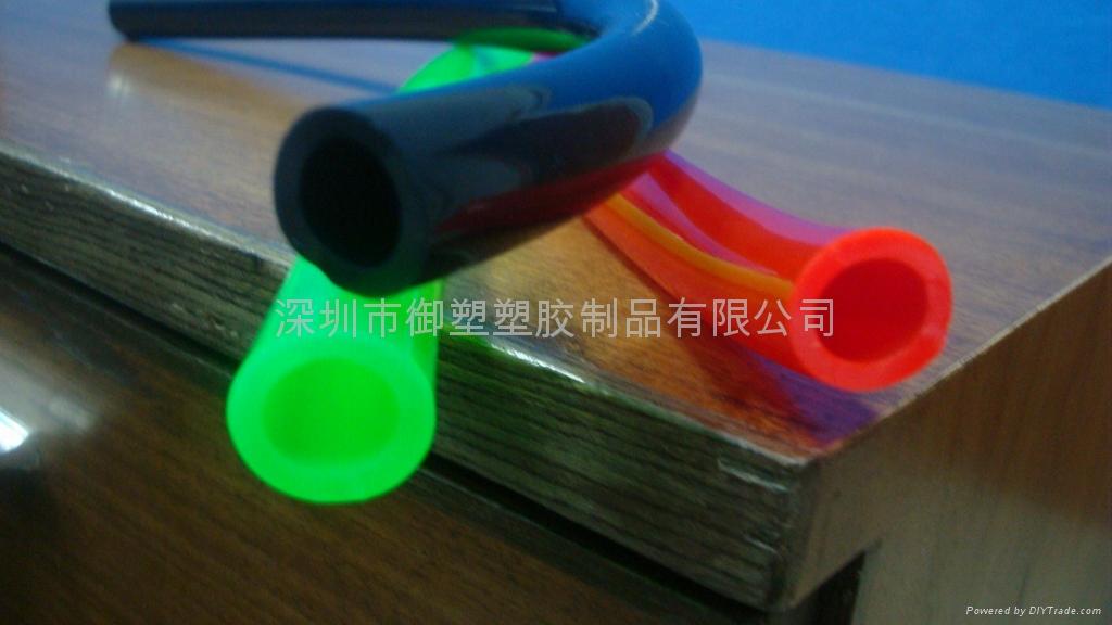 Fluorescent pvc plastic tube  royal