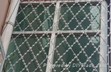 焊接刀片刺繩護欄網