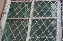 焊接刀片刺绳护栏网
